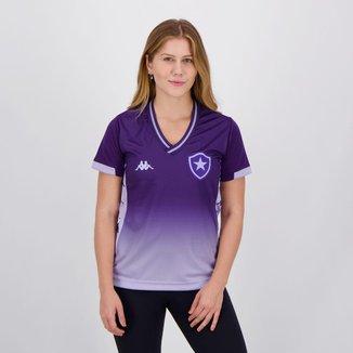 Camisa Kappa Botafogo Goleiro I 2019 Feminina