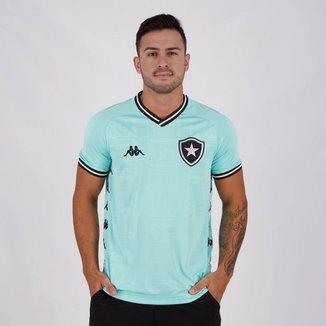 Camisa Kappa Botafogo Goleiro Iii 2019 Masculino