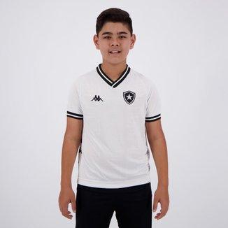 Camisa Kappa Botafogo III 2019 Infantil Branca