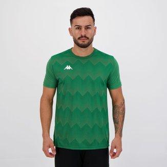 Camisa Kappa Lines Verde
