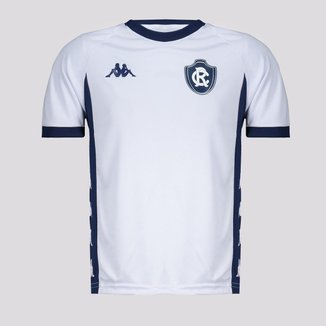 Camisa Kappa Remo 2021 Supporter Juvenil Branca