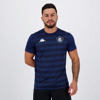 Camisa Kappa Remo Concentração II 2020 Marinho