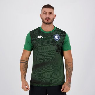 Camisa Kappa Remo Supporter Leão Verde