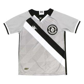 Camisa Kappa Vasco Goleiro III 2021/22 Juvenil -