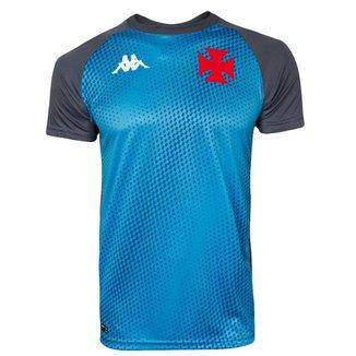 Camisa Kappa Vasco Treino Goleiro 2020 Masculina