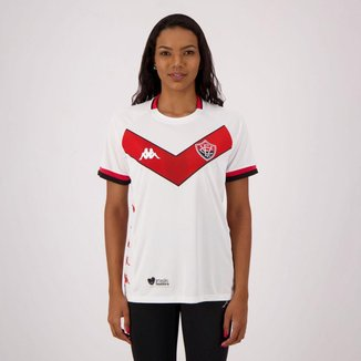 Camisa Kappa Vitória II 2019 Feminina