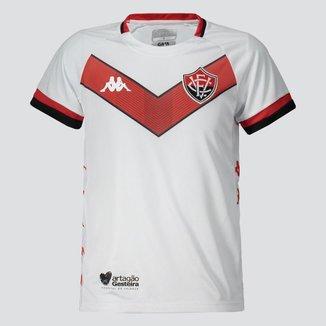 Camisa Kappa Vitória II 2019 Infantil    Masculina