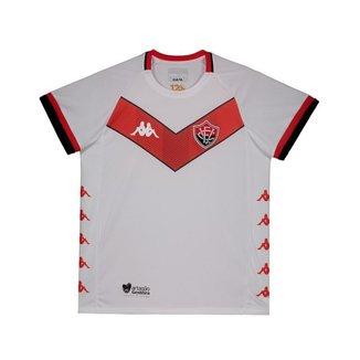 Camisa Kappa Vitória II 2019 Juvenil