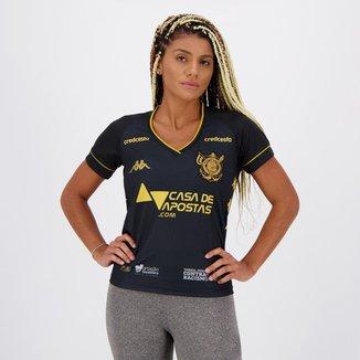 Camisa Kappa Vitória III 2020 Feminina
