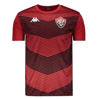 Camisa Kappa Vitória Treino 2019 Masculina