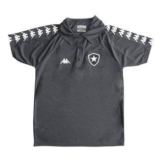 Camisa Polo Kappa Botafogo Viagem 2019/20 Masculi