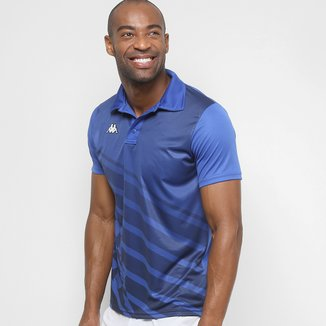 Camisa Polo Kappa Diagonale Masculina