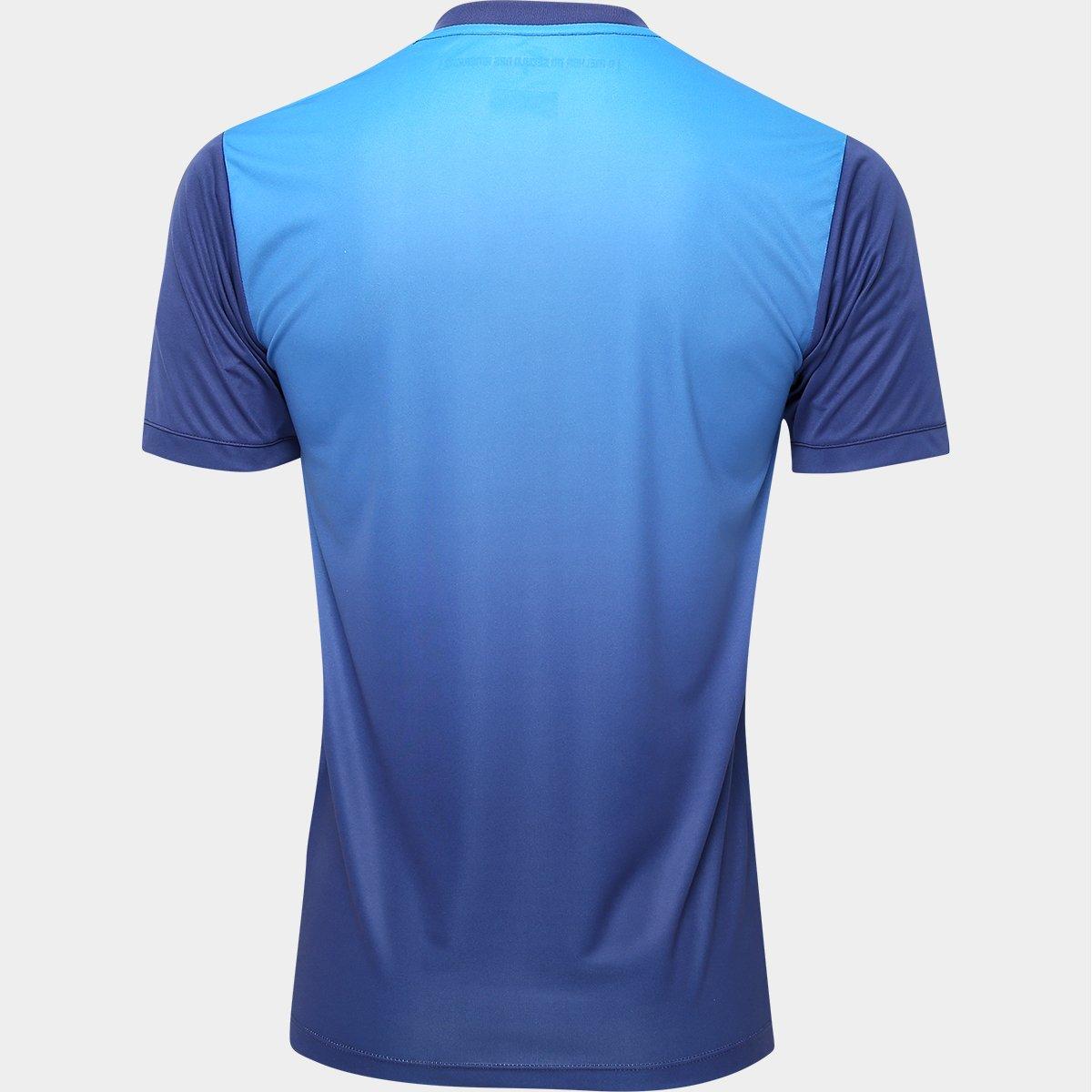 6ea9e6ef9be2e Camisa Santos III 2016 s nº Torcedor Kappa Masculina - Azul e Marinho