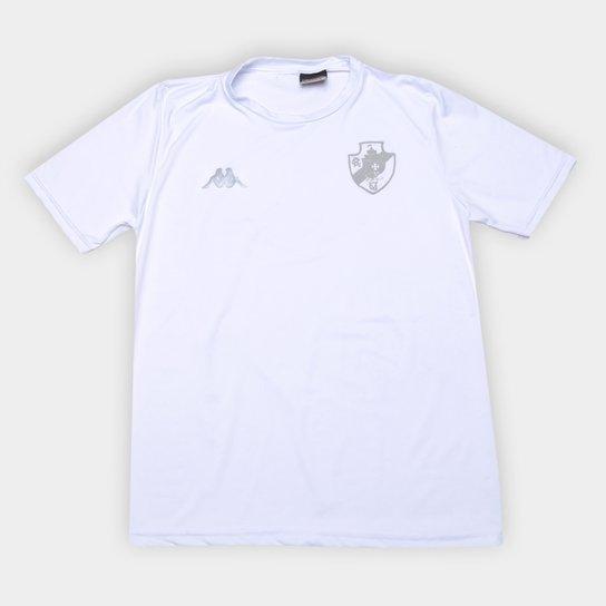 Camisa Térmica Vasco 20/21 Kappa Masculina - Branco