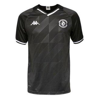 Camisa Vasco 2021/2022 Preta Kappa Oficial III S/N