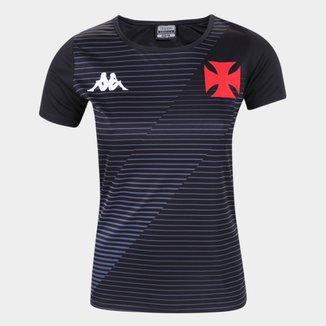 Camisa Vasco da Gama Supporter Kappa Feminina