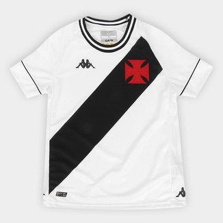 Camisa Vasco Infantil II 20/21 s/n° Torcedor Kappa