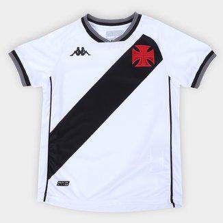 Camisa Vasco Infantil II 21/22 s/n° Torcedor Kappa