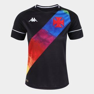 Camisa Vasco LGBT 21/22 s/nº Torcedor Kappa Feminina