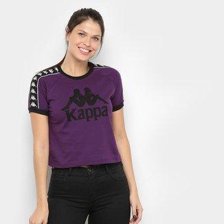 Camiseta Kappa Cropped Piaza Feminina