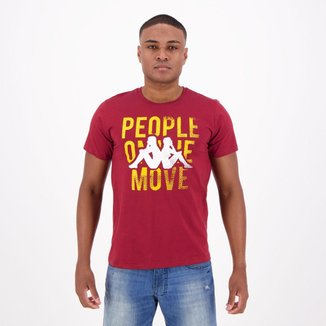 Camiseta Kappa People Move Masculina