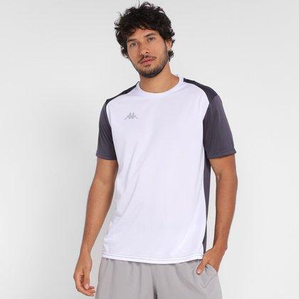 Camiseta Kappa Recorte Ombro Masculina