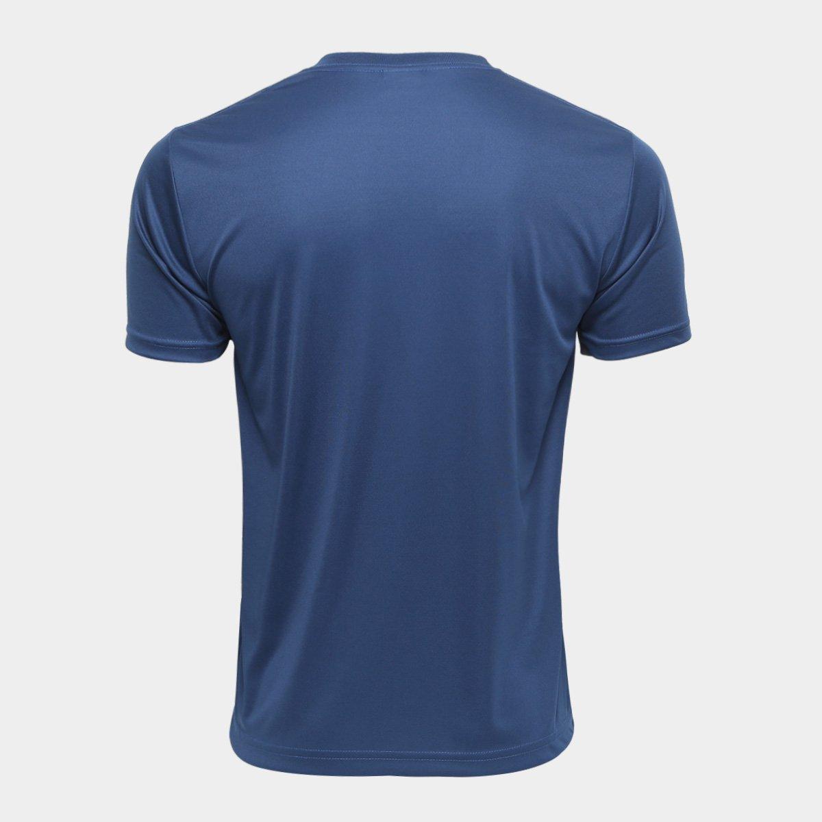 8149899fc6cfe Camiseta Kappa Shangai Masculina - Marinho - Compre Agora