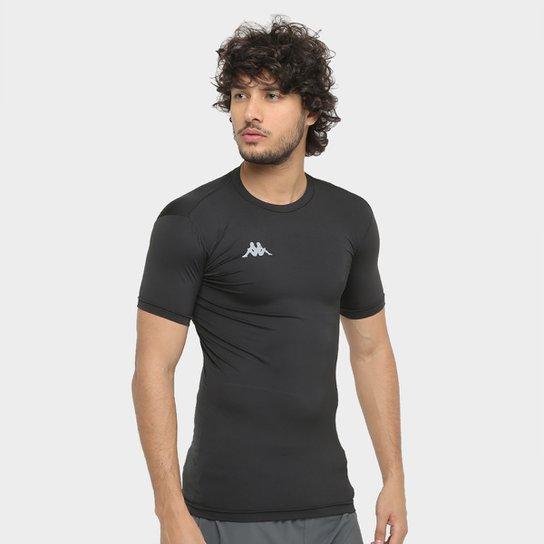 Camiseta Kappa Térmica Embrace Masculina - Preto