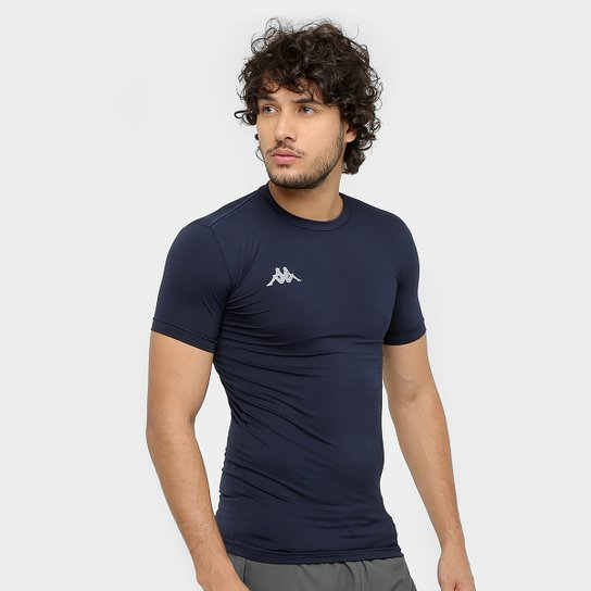 Camiseta Kappa Térmica Embrace Masculina - Marinho