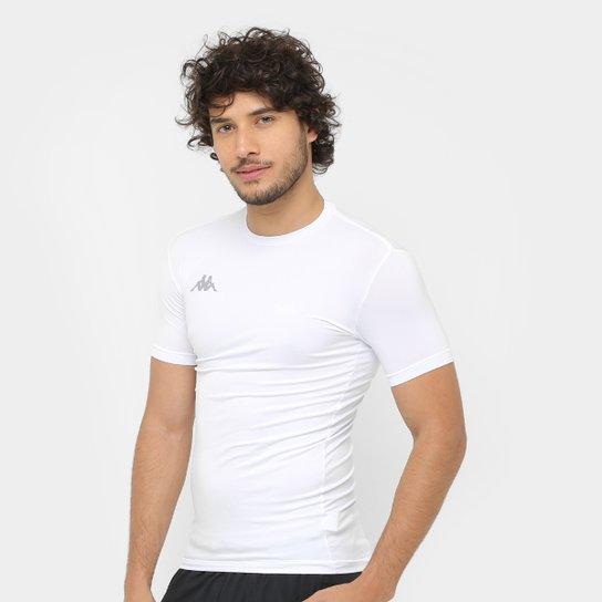 Camiseta Kappa Térmica Embrace Masculina - Branco