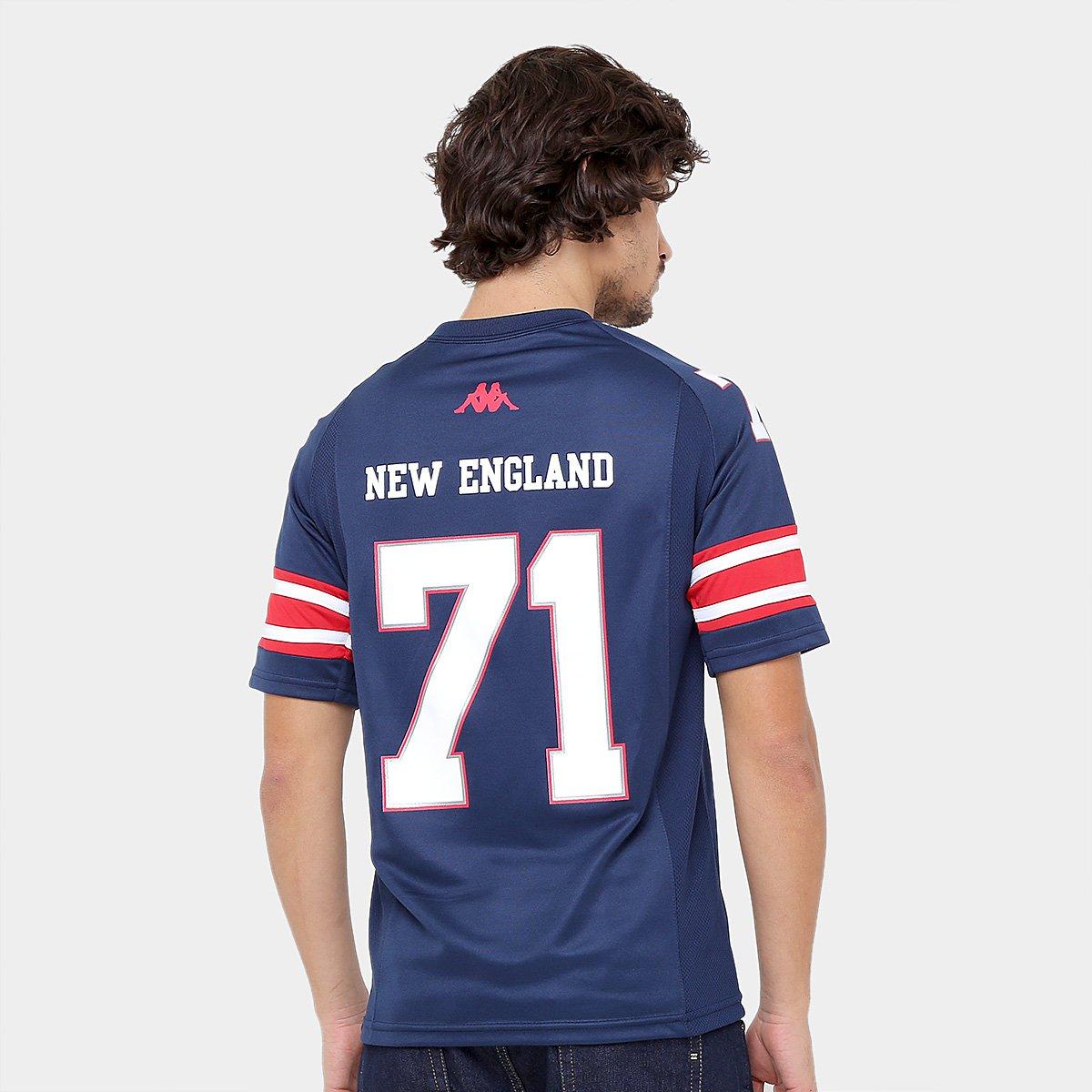 Camiseta New England Kappa Futebol Americano Masculina - Compre ... efaa30a2888e0