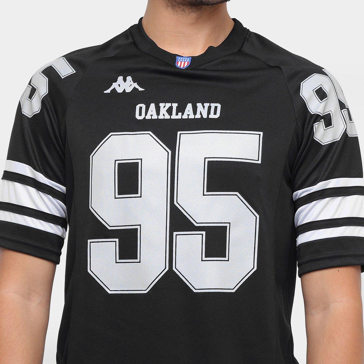 4678bf0fbfeeb Camiseta Oakland Kappa Futebol Americano Masculina - Compre Agora ...