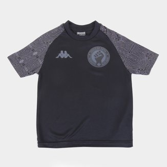 Camiseta Vasco Infantil Respeito e Igualdade Kappa
