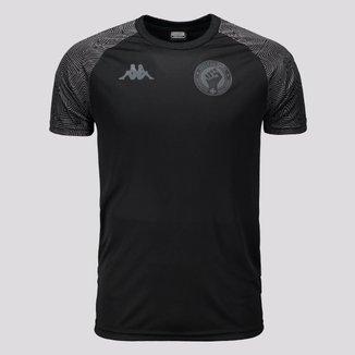 Camiseta Vasco Plus Size Respeito e Igualdade Kappa Masculina