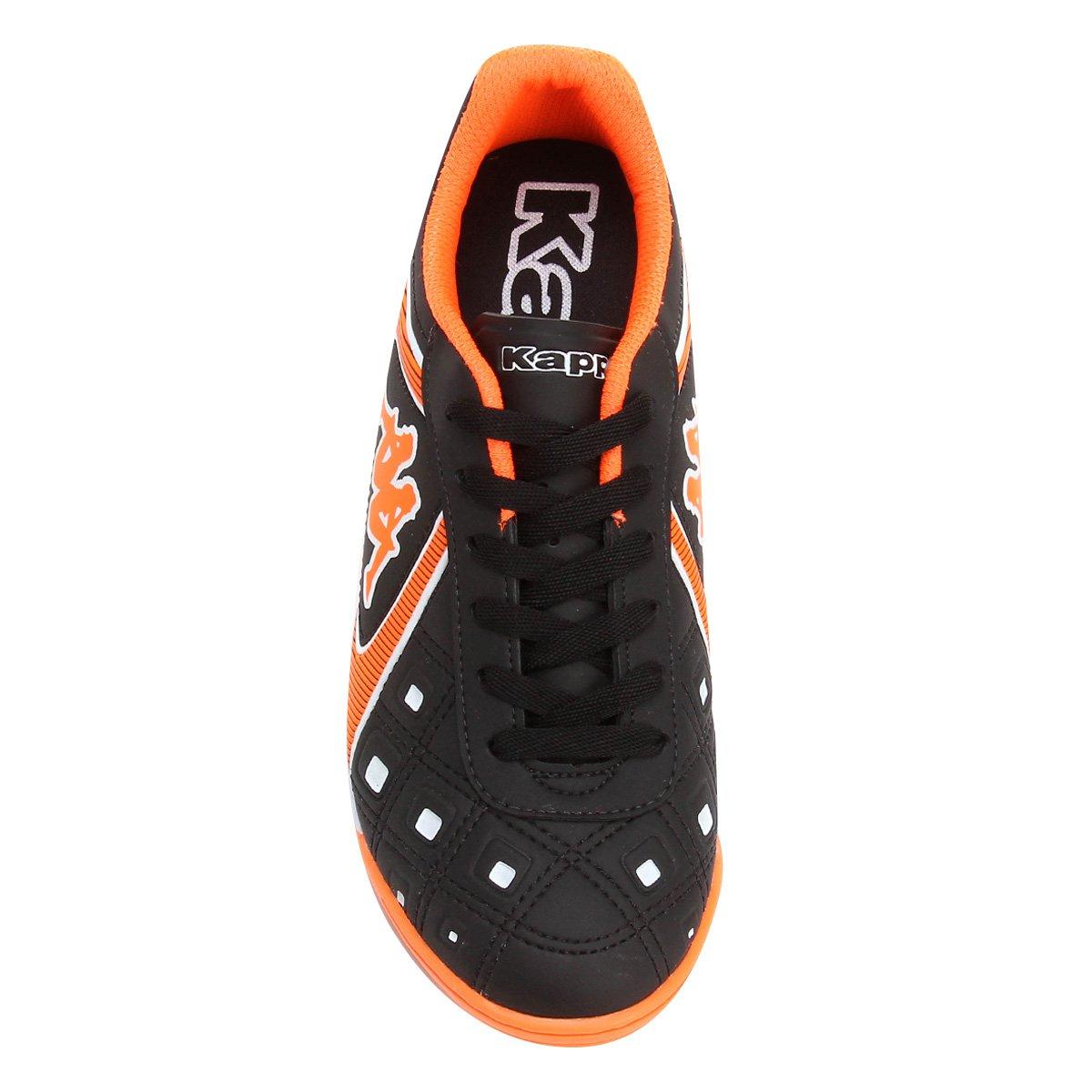 Chuteira Futsal Kappa Catanzaro - Preto e Laranja. Produto indisponível 09c9364865f00
