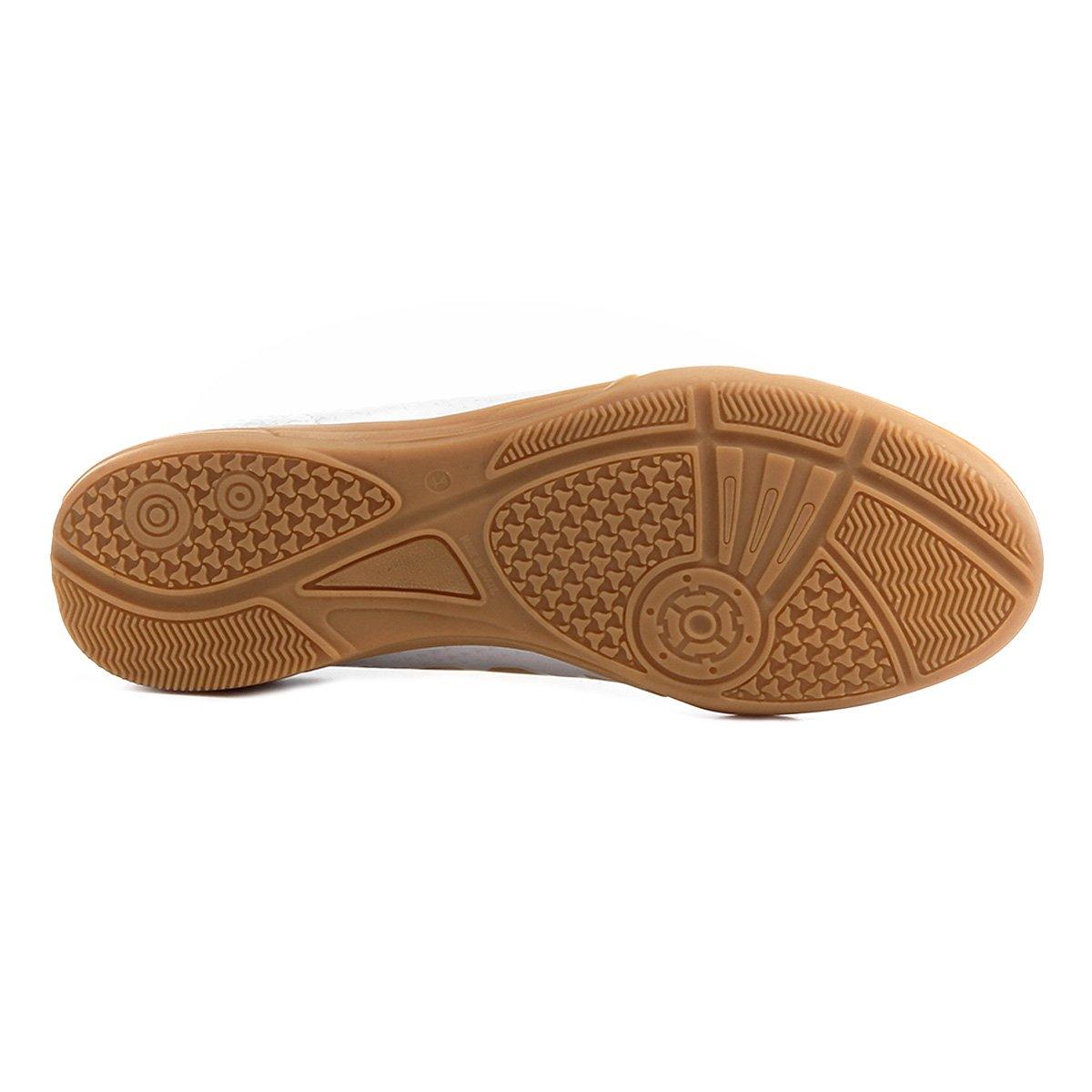 789936e365 Chuteira Futsal Kappa Údine - Gelo e Preto - Compre Agora