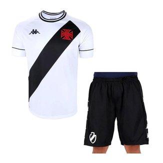 Kit Kappa Vasco 2020 Camisa II + Bermuda Supporte