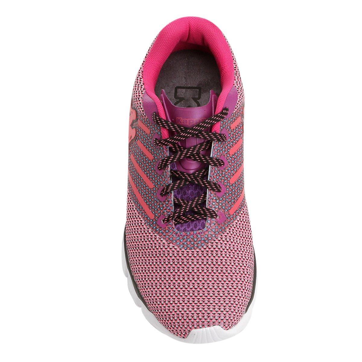 7fed669a0481d Tênis Kappa Merge Feminino - Pink e Roxo - Compre Agora